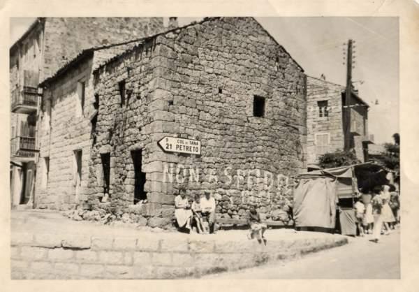 Fête de St Antioche, place de l'Andriaccia