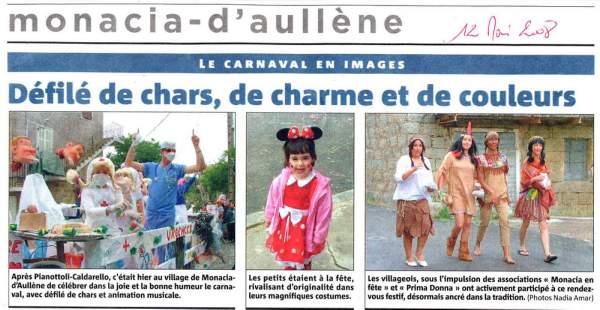 Carnaval Monacia 2008
