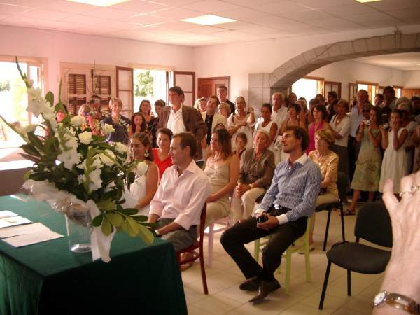 Aullène : mariage Donnarel & Maurel-Dor 2008