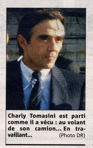 Décès Tomasini Charles