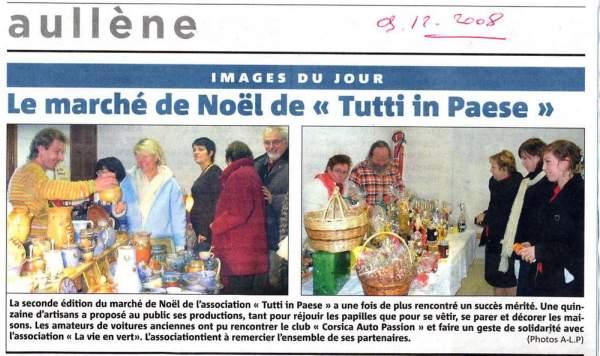 Marché Noël 2008