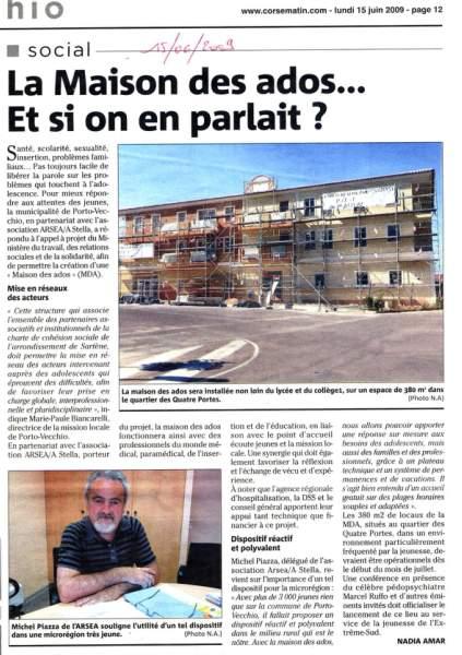 Piazza Michel, directeur de la 'Maison des ados'