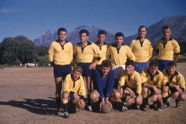 Equipe foot senior 1961