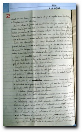 rapport de gendarmerie de 1933 relatif au vol du véhicule de François Lucchini à Aullène